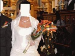 Suknia ślubna GRACJA rozmiar 42
