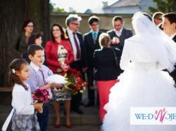 Suknia ślubna Granite Princessa kamyczki swarovskiego