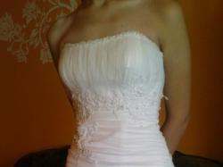 suknia ślubna + gratis koronkowe rękawiczki
