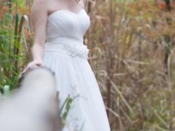 Suknia ślubna - grecka, empire, prosta, klasyczna roz.36