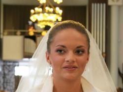 suknia ślubna HERM'S, model: Lequese,rozm.38+dodatki