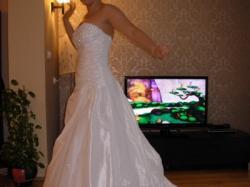 suknia ślubna Herm's 38/40 + halka + welon