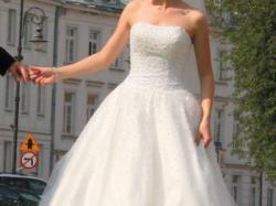 Suknia ślubna Herm's Candice stan idealny Warszawa