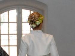 Suknia ślubna Herm's Gabone r. 38 z kryształkami Svarowskiego
