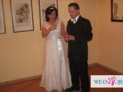 Suknia ślubna Herm's rozmiar 38 na 160-165 cm