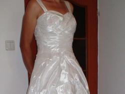 Suknia ślubna Hermago + welon ręcznie haftowany