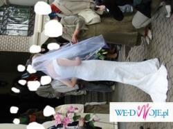 Suknia ślubna Herms Bator – stylowa rybka