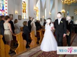 Suknia ślubna Herms Caramel 36 kryształy Swarovski
