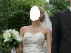 Suknia   ślubna Herms, Lenice