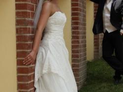 Suknia ślubna - HERMS model Eleri - zakupiona w salonie Madonna