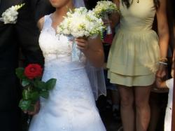 Suknia ślubna HERMS - V DINANT 2014