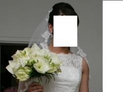 Suknia Ślubna Hiszpania Pronovias Laudin 2014