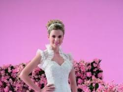 Suknia ślubna, hiszpanka, Kolekcja JASMINE F107