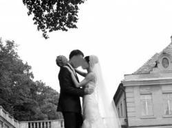 Suknia ślubna hiszpanka rozmiar 34 36 ecru + welon