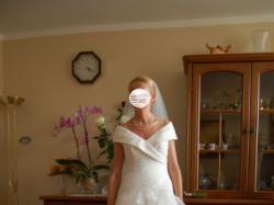 Suknia ślubna hiszpańska La sposa k. Ivory