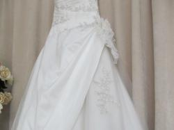 Suknia ślubna hiszpańska St Patrick r. 38 na wysoką dziewczynę 180cm!
