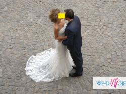 Suknia ślubna hiszpańska z kolekcji PRONOVIAS model SILABA