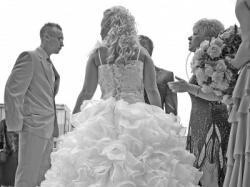 Suknia Ślubna HOOLLYWOOD dla Gwiazdy + 5 m WELON !