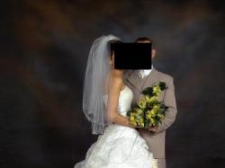 suknia ślubna i akcesoria