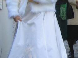 Suknia ślubna ( idealna dla ciężarnej )