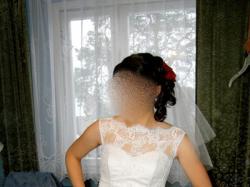 Suknia Ślubna Impressja koronka biała 38-42