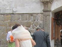 Suknia ślubna inna niż wszystkie! Polecam :)