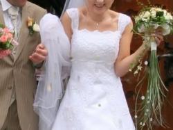 Suknia ślubna ISABEL DE MESTRE z kolekcji 2007.