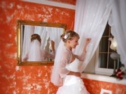 Suknia ślubna Isabel w stylu moulin rouge rozm. 36