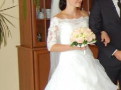 Suknia ślubna Ivory Herm's Vanimo+ Dodatki