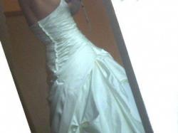 suknia ślubna ivory r.38 na wzrost  176 -180 cm