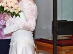 Suknia ślubna ivory rozm.34-36