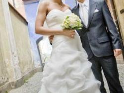 suknia ślubna ivory rozmiar 40/42+ GRATIS welon