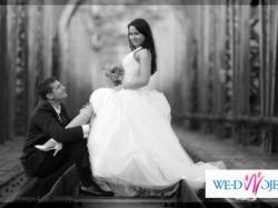 Suknia ślubna jak dla księżniczki