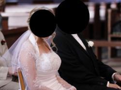 Suknia ślubna jak nowa + bolerko i koło ! Piękna, rozmiar 36-38-40!