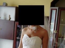 Suknia ślubna jak nowa, czysta biel!!!