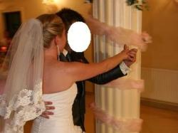 Suknia ślubna jak Sincerity Brindal 3349