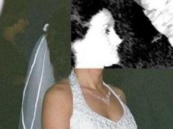 Suknia ślubna - jasne ecru.