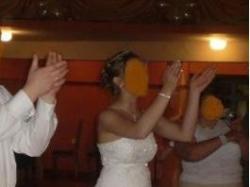 Suknia Ślubna Jednoczęściowa Swarovski