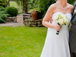 Suknia ślubna Julia Rosa 121 + dodatki