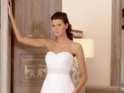 Suknia ślubna Julia Rosa 121 + welon i halka