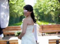 Suknia Ślubna Julia Rosa, romantyczna koronka,