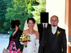Suknia ślubna Justin Alexander 8349 ivory ecru