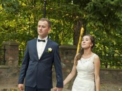 Suknia ślubna Justin Alexander 8596, r. 36, typ syrena