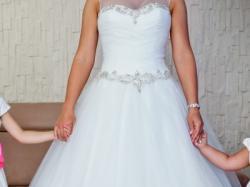 Suknia ślubna Justin Alexander 8716 usa 14  r. 38 - 42