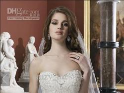 Suknia Ślubna Justin Alexander 8724, pearl/silver
