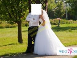 Suknia Ślubna Justin Alexander model 8724, rok 2014