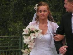 Suknia ślubna Karina+bolerko+welon TANIO!