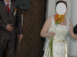 suknia ślubna KEDRO HERMS (DO NEGOCJACJI)  + WELON