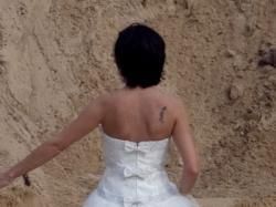 "Suknia ślubna ""Kendra"" rozmiar 36 +Welon GRATIS"