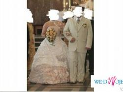 Suknia Ślubna KIM z trenem